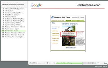 Google Website Optimizer Demo