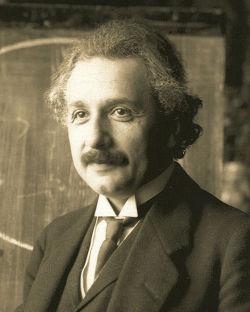 Albert Einstein um 1922