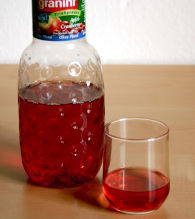 Cranberry-Apfel Saft