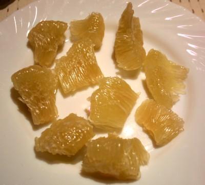 Honig Pomelo Fruchtfleisch