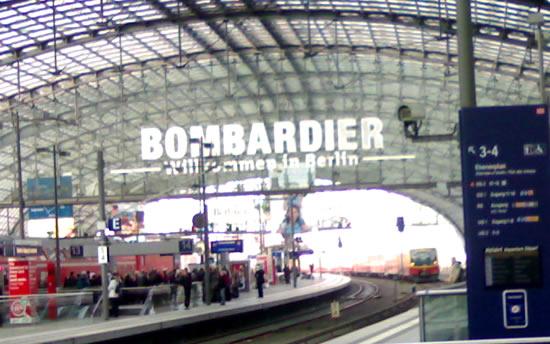 Bombardier Berlin Hauptbahnhof