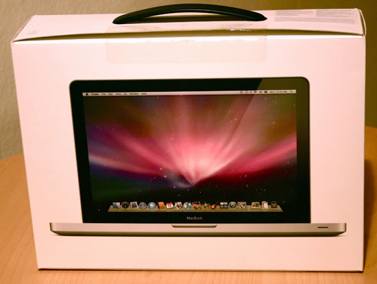 MacBook Packung Rückseite