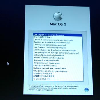MacBook Sprache auswaehlen
