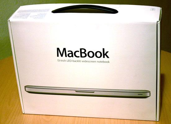 MacBook Verpackung