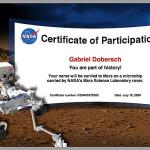 Ich fliege zum Mars