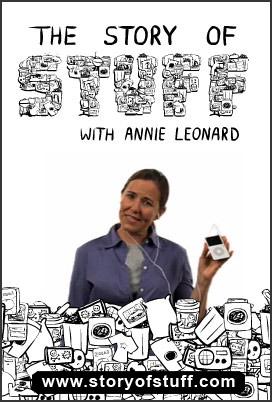 die >Story of Stuff< von und mit Annie Leonard