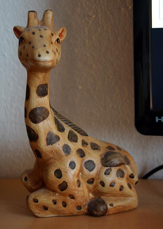 Schreibtisch-Giraffe