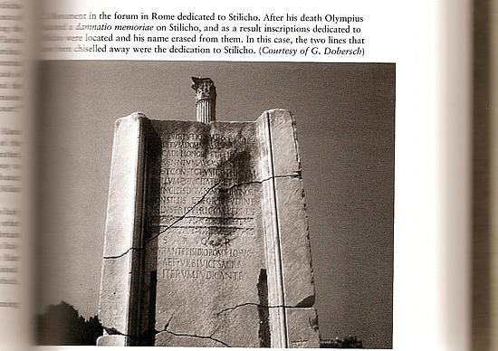 Stilicho Monument Foto Buch Scan
