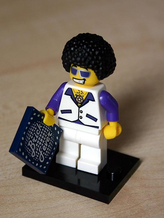 70s Brick Fever LEGO-Mann