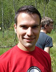 Michael Heber im Natur-Ferienlager Warthe
