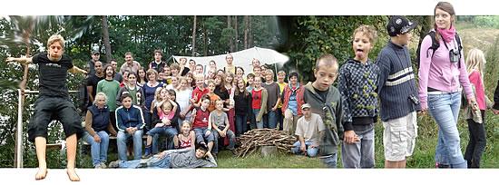 Natur-Ferienlager in Warthe