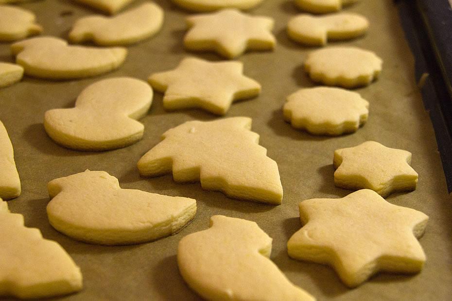 Kekse (Butterplätzchen)