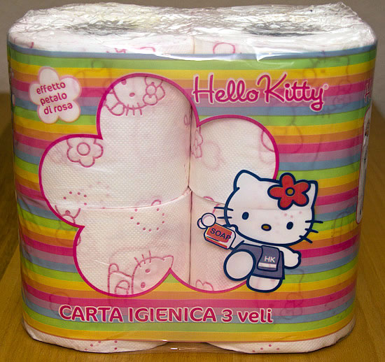 Hello Kitty Toilettenpapier