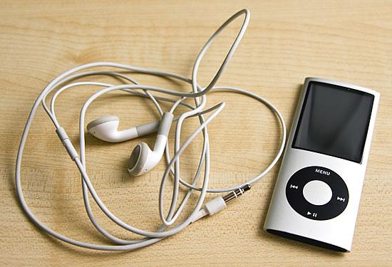 iPod Nano 4G Kopfhörer