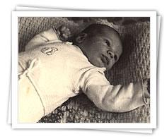 Gabriel als Baby
