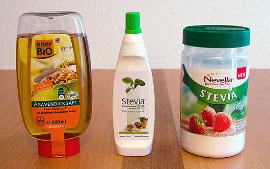 Stevia flüssig & Stevia Streusüße