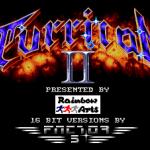 Turrican2 Startbildschirm