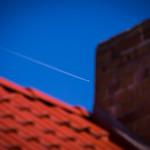 """Flugzeug fliegt am Schornstein """"vorbei"""""""