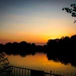 Sommerabend am Templiner See