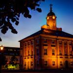 Historisches Rathaus von Templin auf dem Marktplatz