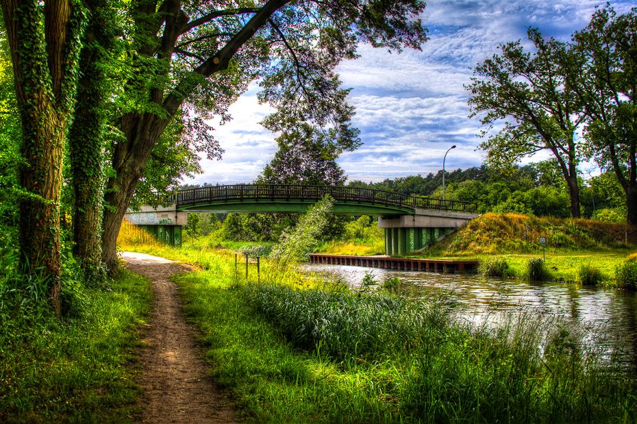 Ziegeleibrücke in Templin (über den Kanal)