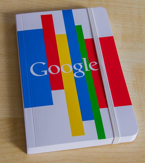 Google Notizbuch front