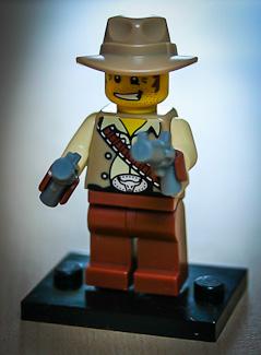 LEGO-Cowboy
