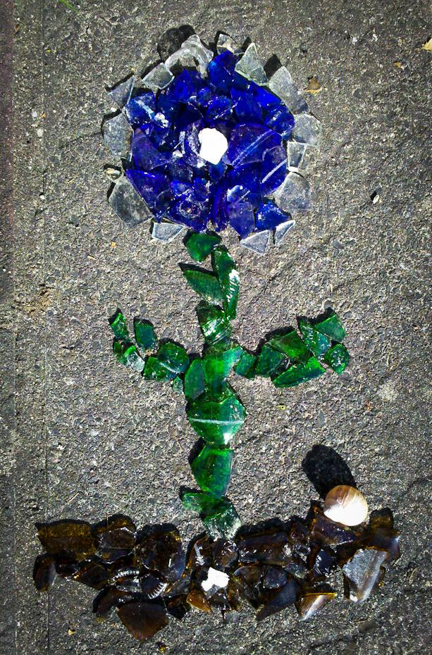 Glas-Blume