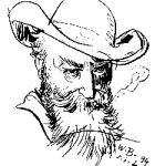 Wilhelm Busch (Selbstportrait)