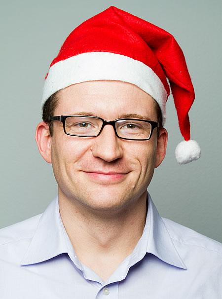 Blog-Weihnachtsmann Gabriel
