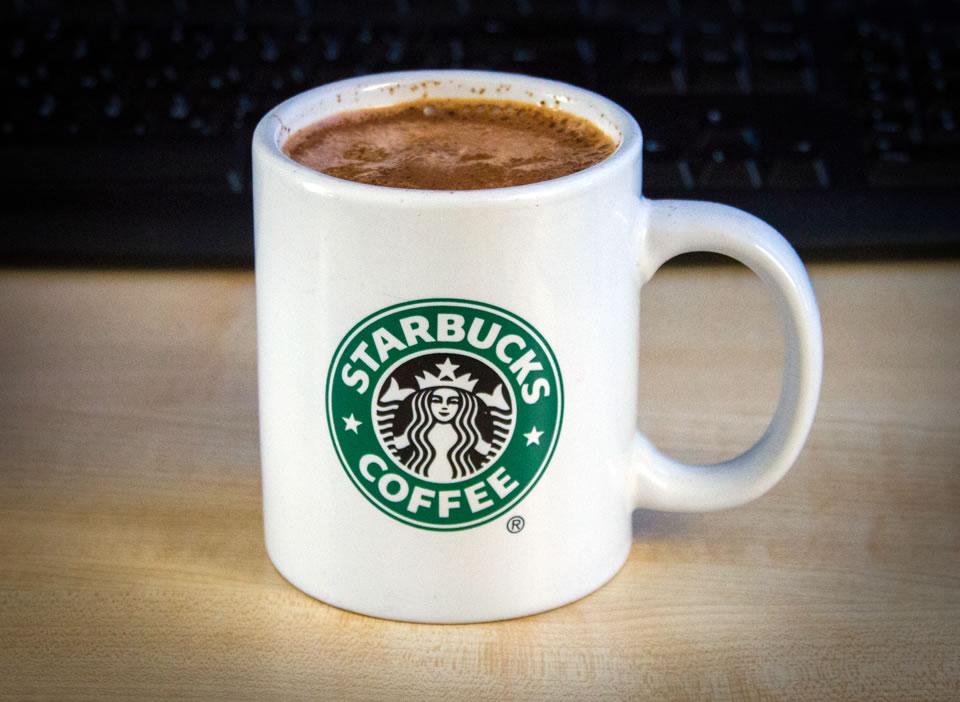 Starbucks Kaffetasse