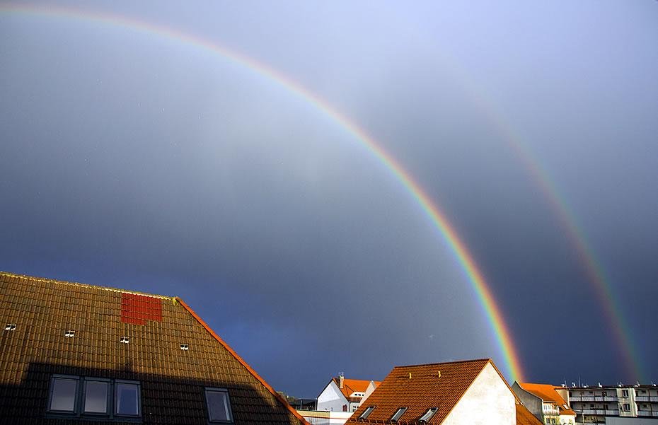 Regenbögen - Doppelter Regenbogen