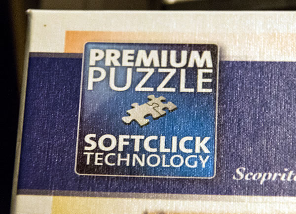 """Premium Puzzle"" mit ""Softclick Technology"""