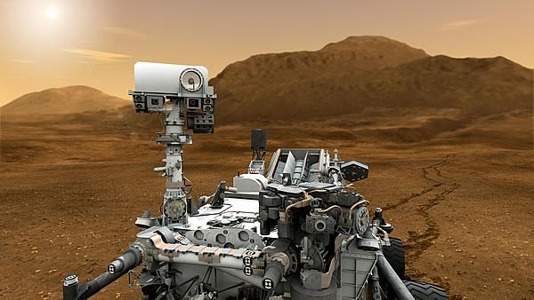 Curiosity wechselt Rechner auf dem Mars (Foto: NASA/JPL-Caltech)