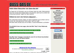 dass-das.de (Screenshot)
