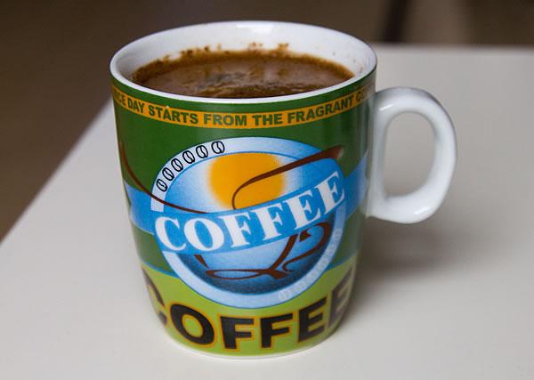 Meine Kaffee-Tassen werden zukünftig vorwiegend Tee beinhalten