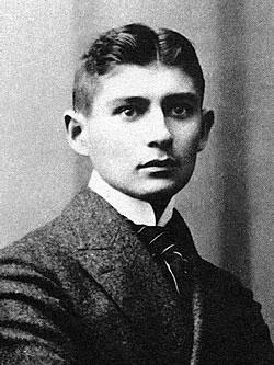Franz Kafka um 1906