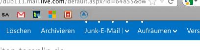 Outlook.com Ladepunkte