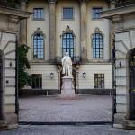 Eingang der Humboldt-Universität Berlin