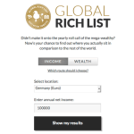Global Rich List (Screenshot)