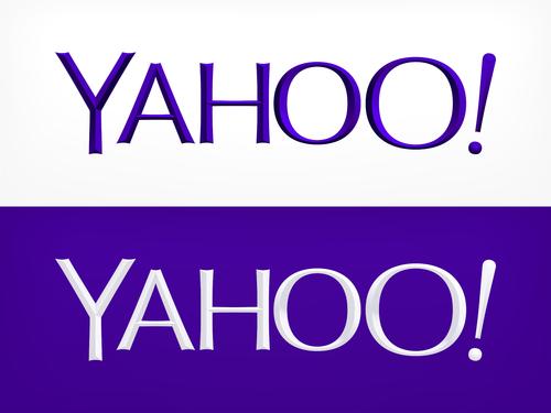 Neues Yahoo!-Logo