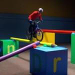 BMX-Rad in der Spielzeugwelt