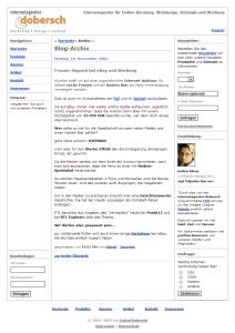 dobersch.com in 2003