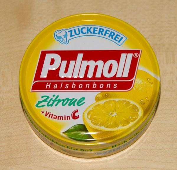 Pulmoll Halsbonbons Zitrone