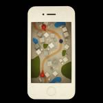 Apple iPhone selbst gebastelt (Skeuomorphismus)